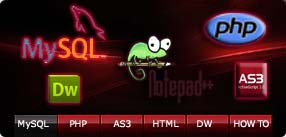 jpeg with Web Design Application logos designed by SFaíson